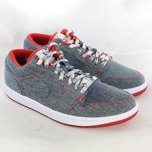 NIKE x  AIR JORDAN 1 Low Retro Denim Sneakers